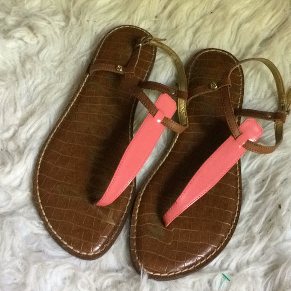 Sam Edelman Shoes - Sam Edelmanl pink and tan sandals size 9